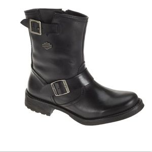 Harley Davidson Halsey Leather Riding Boot